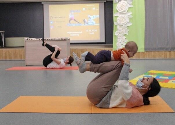 Обучающий семинар-практикум в «МЦ «Алан» для молодых мамочек «Мама + Малыш»