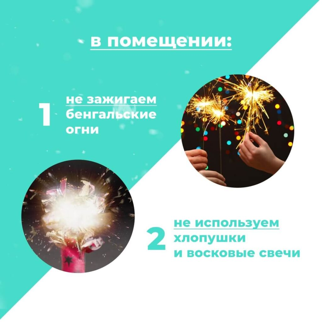 Чек-лист по безопасности в Новый год