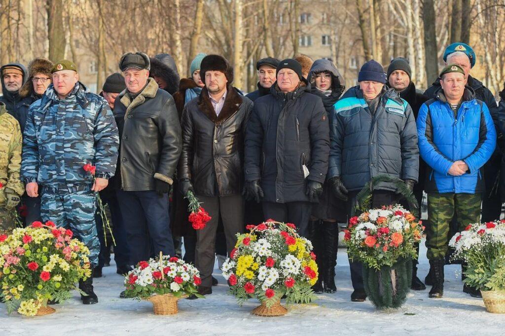 Митинг, посвящённый 32-й годовщине вывода советских войск из Республики Афганистан