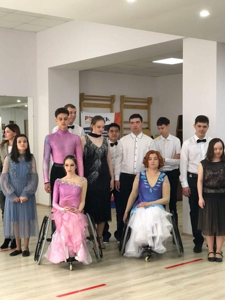 """Церемония награждения по итогам муниципального фестиваля творчества """"Inclusive Dance"""""""