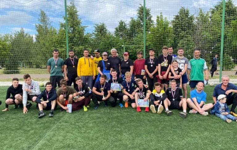 Турнир по мини-футболу в день празднования Дня России в пгт. Камские Поляны