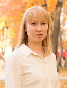 Заведующая отделом – Бубнова Светлана Александровна